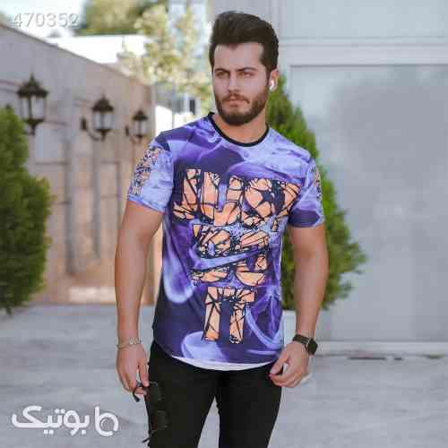 تیشرت مردانه مدل Palma بنفش 99 2020