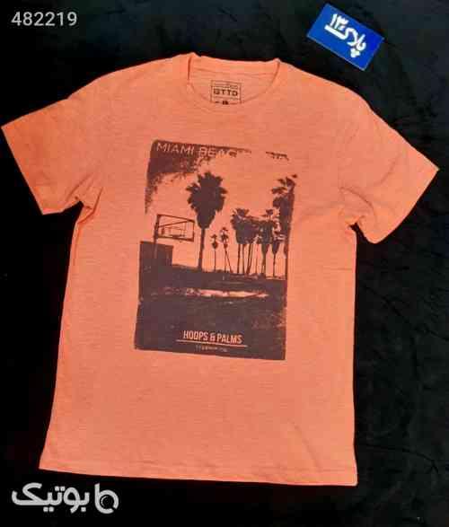 تیشرت  نارنجی 99 2020