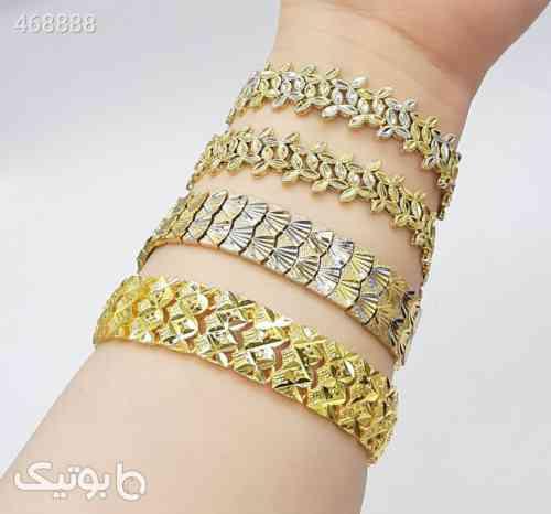 دستبند مجلسی طرح طلا زرد 99 2020