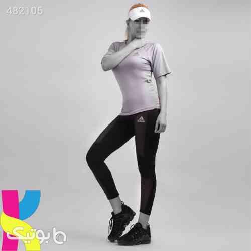 تیشرت شلوار ورزشی مدل آدیداس کد : ۲۱۰۵ طوسی 99 2020