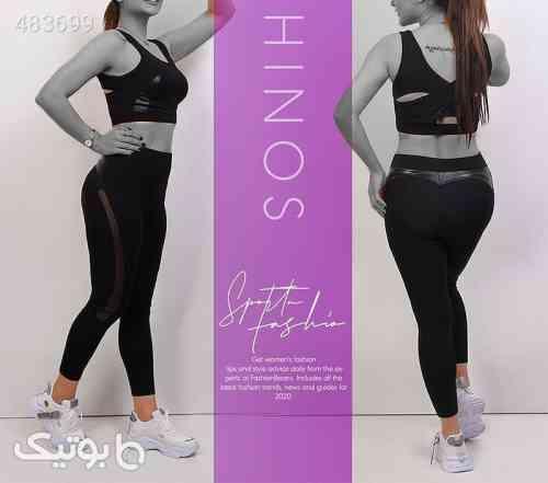 ست تاپ و شلوار دخترانه ZHINOS مشکی 99 2020