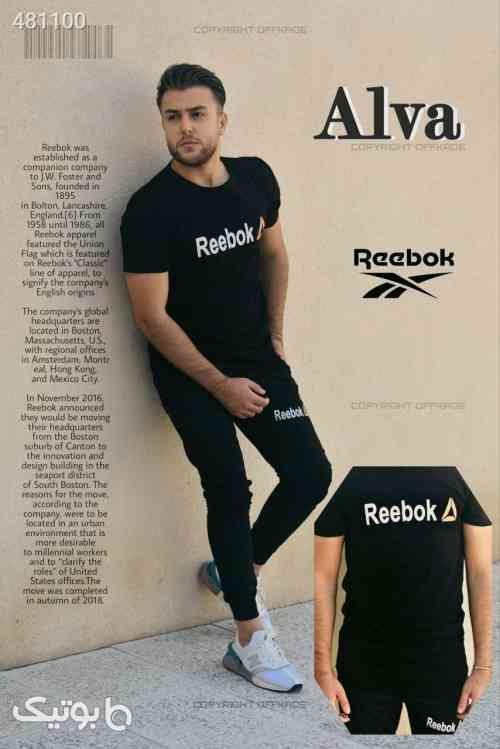 ست تی شرت و شلوار مردانه مدل Alva مشکی 99 2020