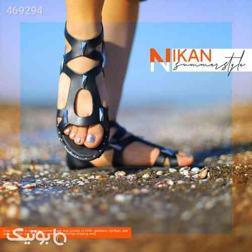 صندل دخترانه مدل NIKAN مشکی 99 2020