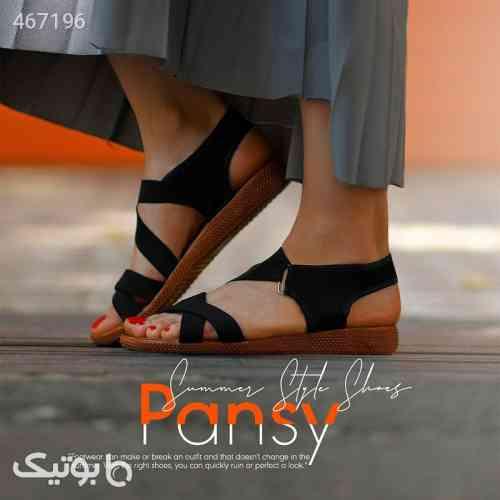 صندل دخترانه مدل PANSY مشکی 99 2020