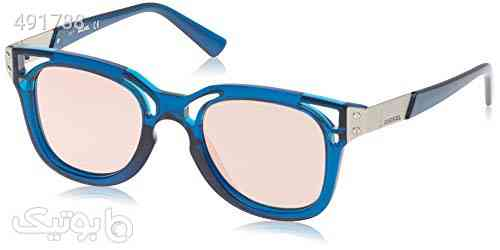 Diesel Unisex Adults' DL0232 90Z 49 Sunglasses, Blue (Blu Luc/Viola Grad e) آبی 99 2020