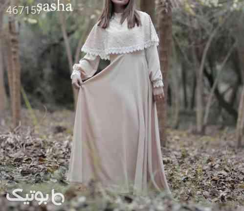لباس مجلسی مدل پریوش  صورتی 99 2020