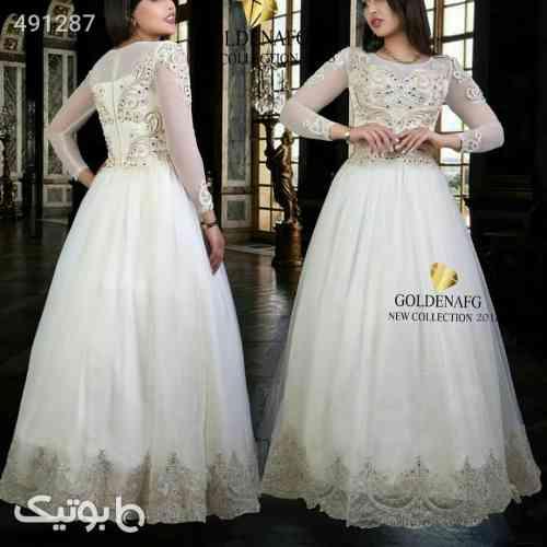 لباس مجلسی نامزدی شازده همتا مدل ترک سفید 99 2020