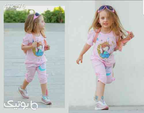 ست تیشرت ساپورت  - لباس کودک دخترانه