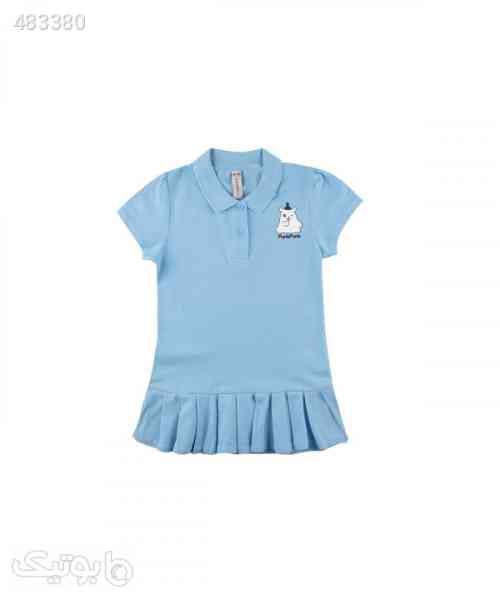 پیراهن آستین کوتاه دخترانه جین وست Jeanswest - لباس کودک دخترانه