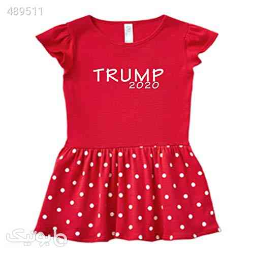 7 Years Southern Dondld Trump 2020 Baby and Toddler Kid Sizes Super Cute Girl Dress for Little Republican زرشکی 99 2020