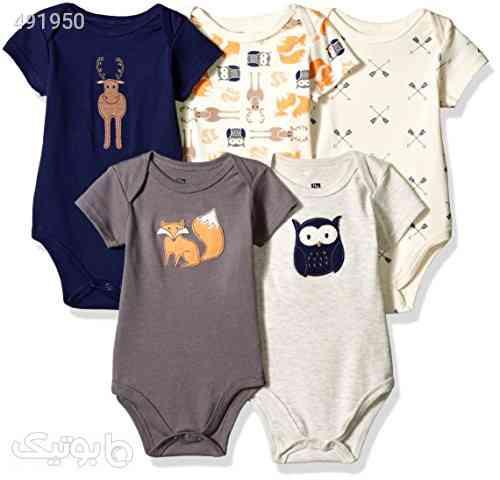 Hudson Baby Baby Cotton Bodysuits سفید 99 2020