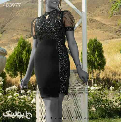 لباس مجلسی مدل آلما  مشکی 99 2020