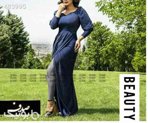 لباس مجلسی  مدل لیانا آبی 99 2020