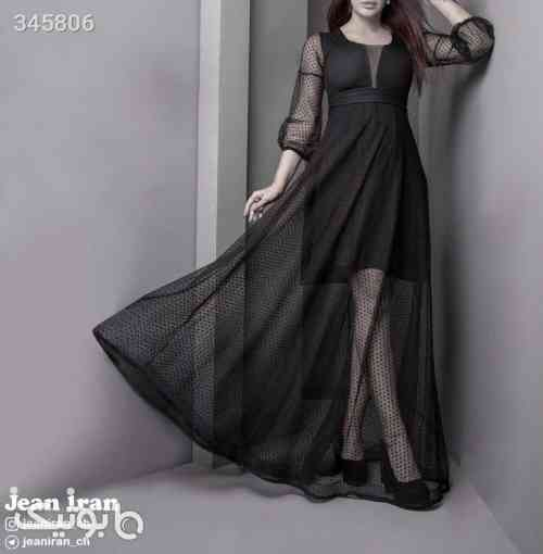 لباس مجلسی مشکی 98 2019