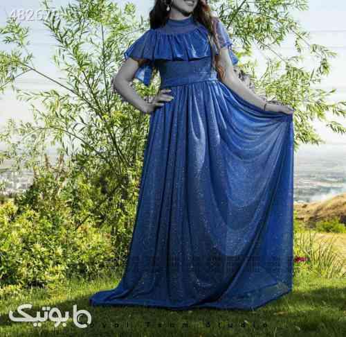 لباس مجلسی آبی 99 2020