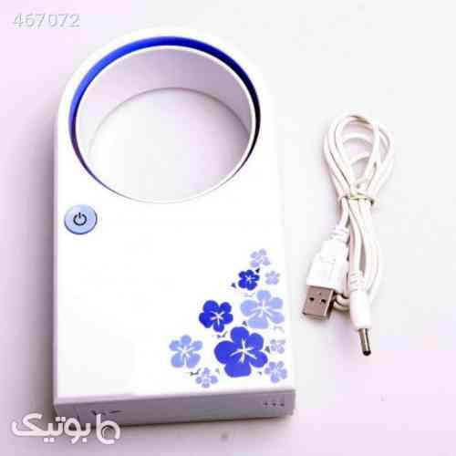 مینی پنکه USB بدون پره آبی 99 2020