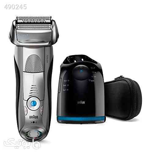 Braun Series 7 7899cc Electric Wet & Dry Foil Shaver With Clean & Charge Station نقره ای 99 2020