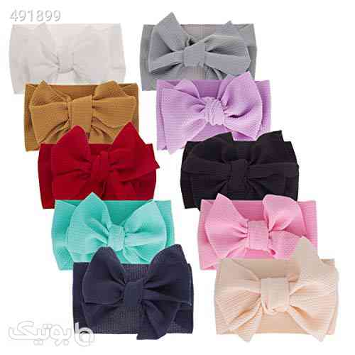 Big Hair Bow Baby Headbands Knot Headwrap bow headband Elastic Head Wraps for Newborn Infant Toddler Hair Accessories سفید 99 2020