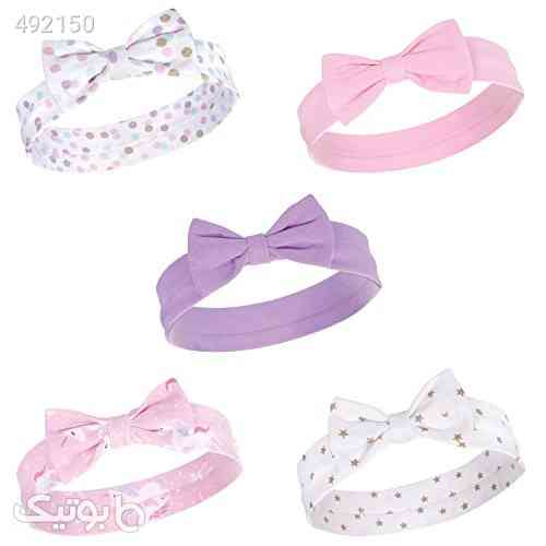 Hudson Baby Infant Girl Cotton Headbands صورتی 99 2020