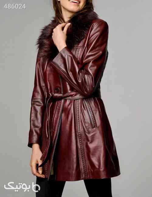 چرم اصل یاسی پالتو زنانه برند Derimod کد 1592973212 قهوه ای 99 2020