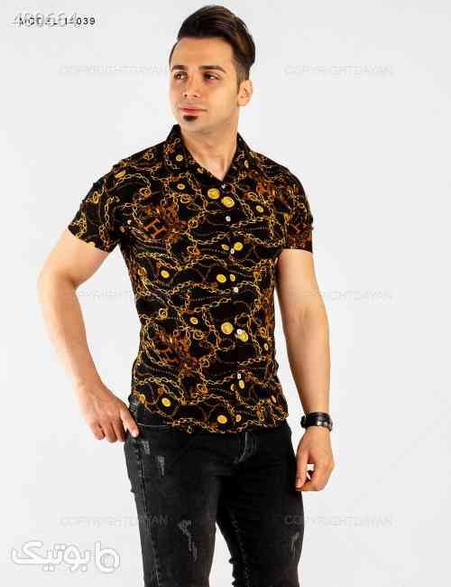 پیراهن مردانه Araz مدل 14039 مشکی 99 2020
