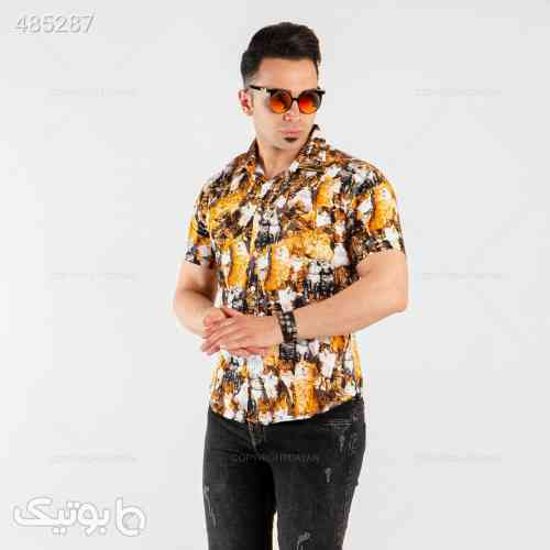 پیراهن مردانه Denver مدل 13939 مشکی 99 2020