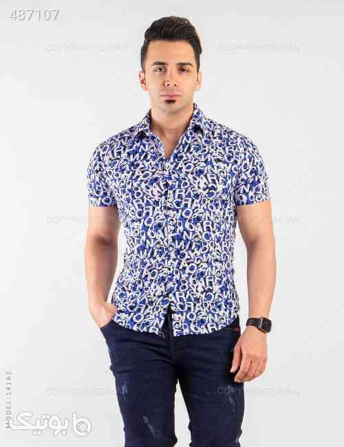 پیراهن مردانه Sevin  مدل 14162 آبی 99 2020