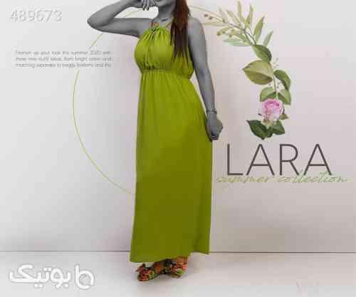 پیراهن دخترانه lara سبز 99 2020