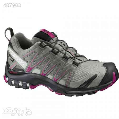 کفش کوهپیمایی زنانه سالومون Salomon XA Pro 3D GTX طوسی 99 2020