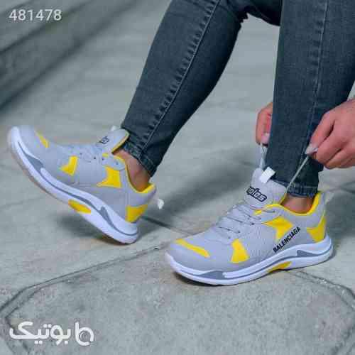 کفش مردانه مدل Balenciaga طوسی 99 2020