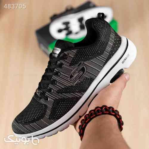 کفش مردانه ورزشی اسکیچرز مدل 13559 مشکی 99 2020