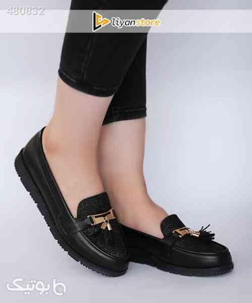 کفش زنانه اسپرت مدل منگوله دار – i93 مشکی 99 2020