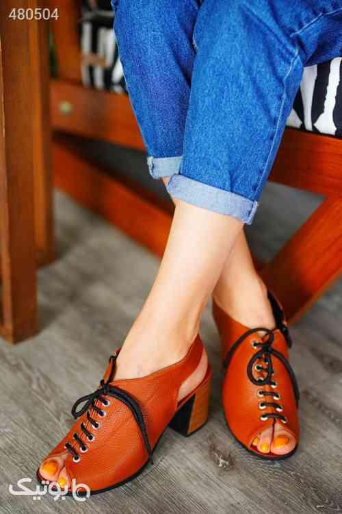 کفش زنانه بسیارشیک وخاص پرفروش راحت قهوه ای 99 2020