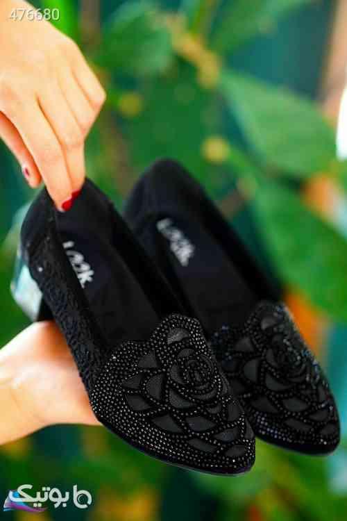 کفش کد 842جنس جیر پاشنه ۳ سانت مشکی 99 2020