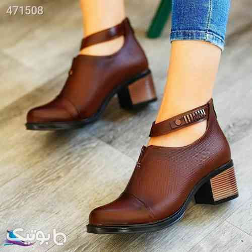 کفش  قهوه ای 99 2020
