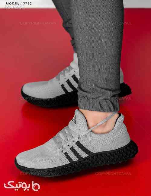 کفش روزمره مردانه Adidas مدل  13762 طوسی 99 2020