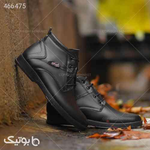 كفش ساقدار مردانه مدل VENIZ مشکی 99 2020