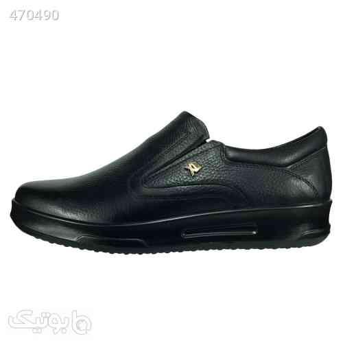 کفش طبی مردانه مدل B435 رنگ مشکی مشکی 99 2020
