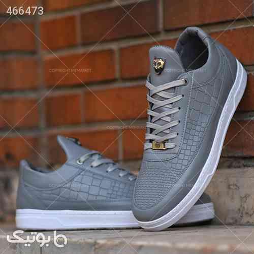 کفش مردانه مدل TOBO طوسی 99 2020