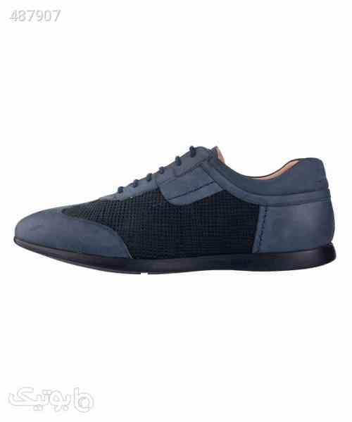 کفش مردانه چرمی لرد Lord مدل Lo-2050-1 سورمه ای 99 2020