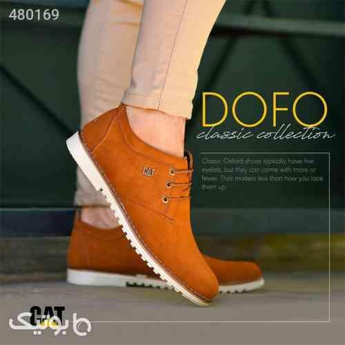 كفش مردانه CAT مدل DOFO قهوه ای 99 2020