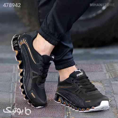 کفش مردانه Puma طرح Dema مشکی 99 2020