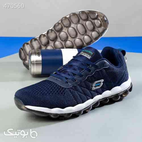 کفش ورزشی مردانه Skechers سورمه ای 99 2020