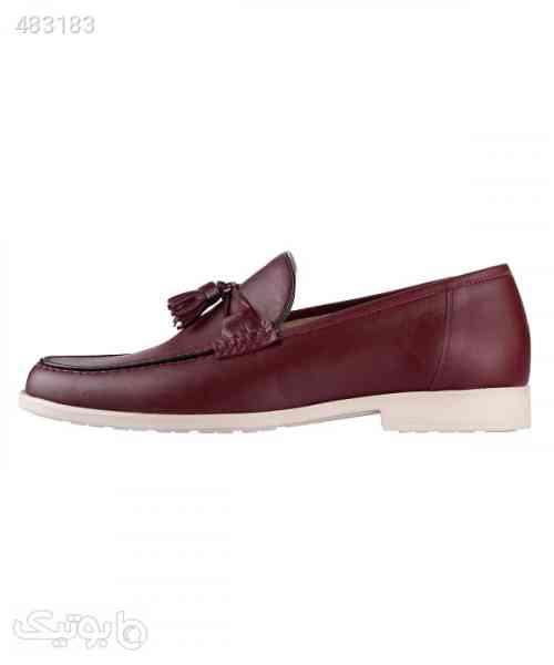 کفش کالج مردانه لرد Lord مدل Lo-9093 زرشکی 99 2020