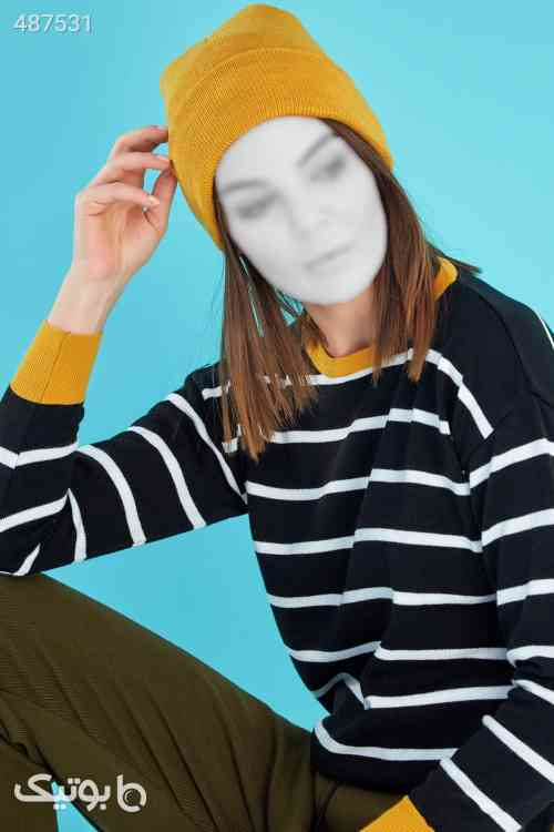 تک رنگ خردلی کلاه زنانه برند Fullamoda کد 1592973076 زرد 99 2020