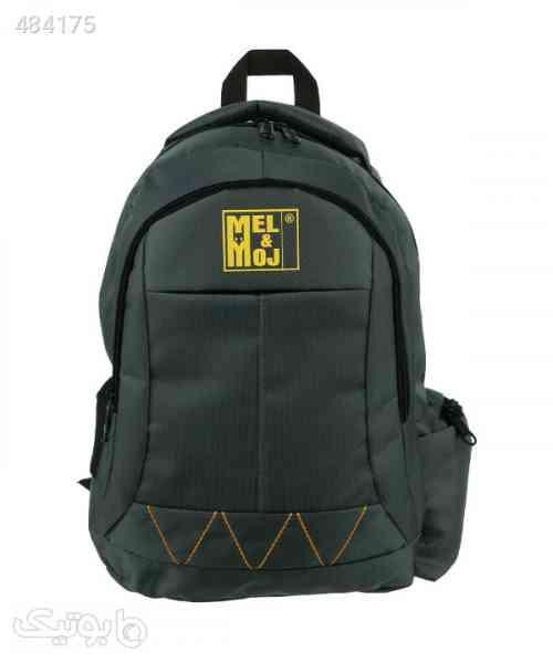 کوله پشتی مل اند موژ Mel & Moj مدل U02222 طوسی 99 2020