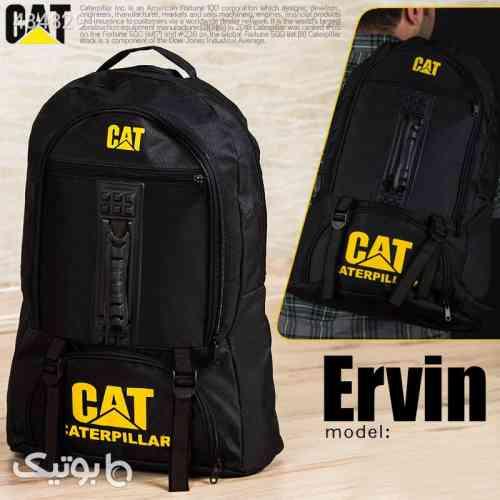 کوله پشتی CAT مدل ERVIN مشکی 99 2020