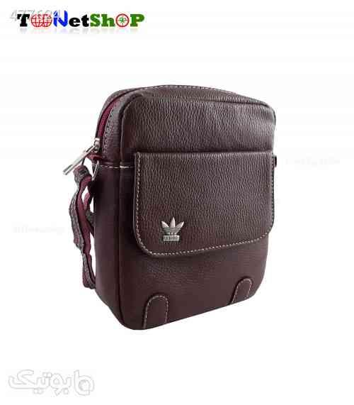 کیف دوشی Adidas کد 7037 قهوه ای 99 2020