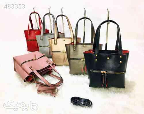 کیف دو دسته شیک و زیبا  صورتی 99 2020
