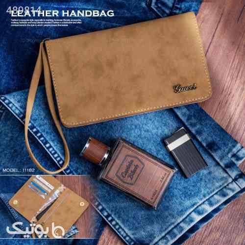 کیف زنانه چرمی برند گوچی  قهوه ای 99 2020
